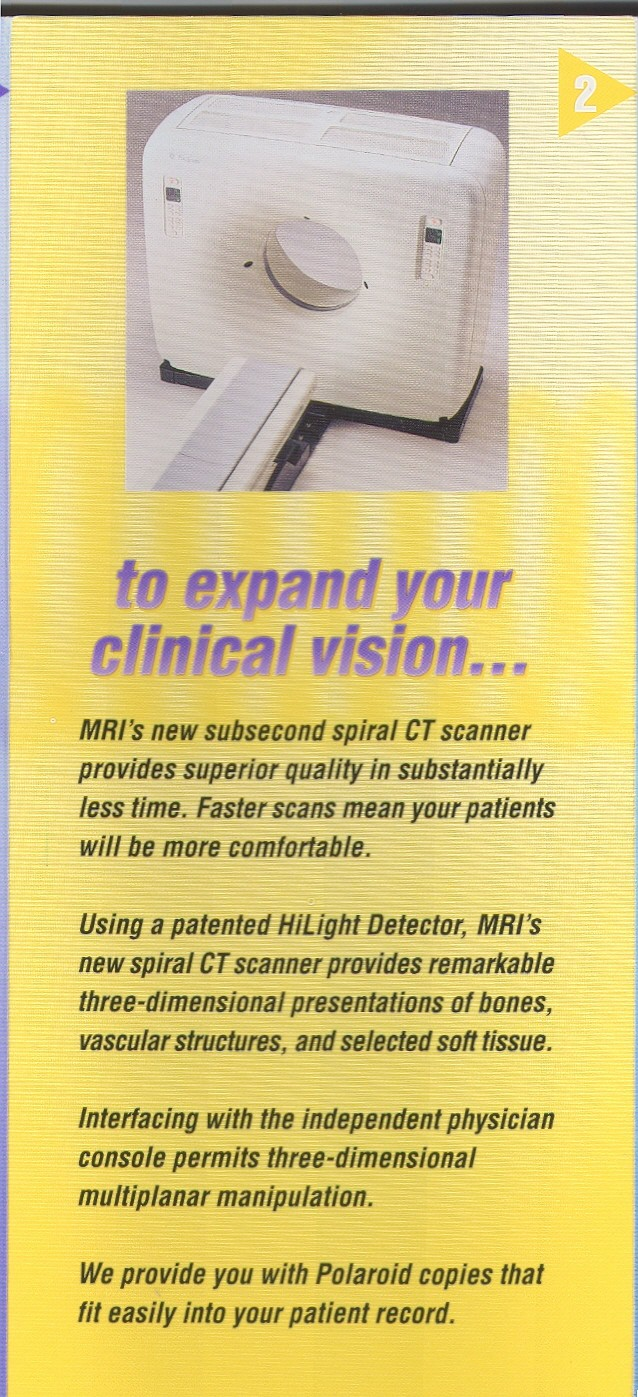 MRI Slinky Mailer Panel